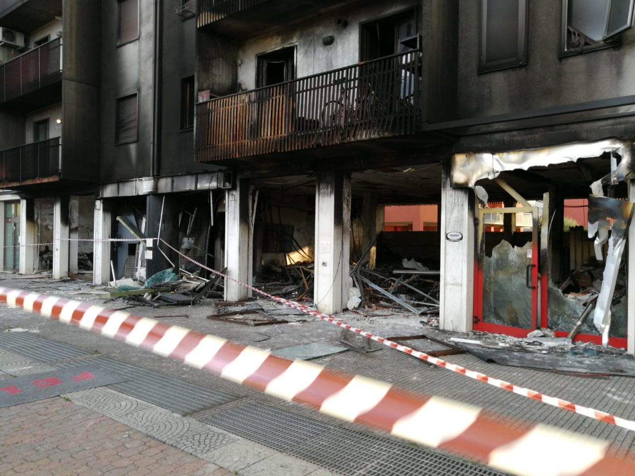 Palazzina esplosa a san Martino Buon Albergo