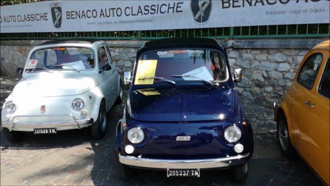 Raduno di auto d&#8217&#x3B;epoca a Bardolino