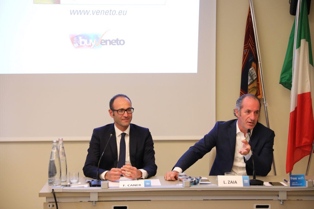 """Buy Veneto, Zaia e Caner alla 17esima edizione. Presidente: """"Una borsa internazionale dedicata alla prima industria della nostra Regione, il turismo""""."""