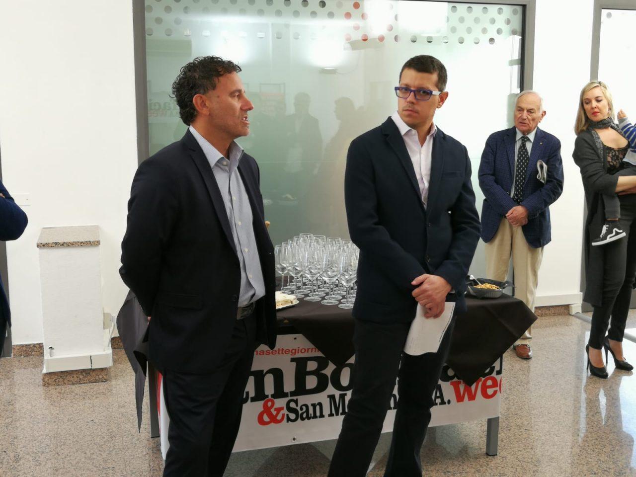 Inaugurata la nuova redazione di san Bonifacio e san Martino Buona Albergo Week