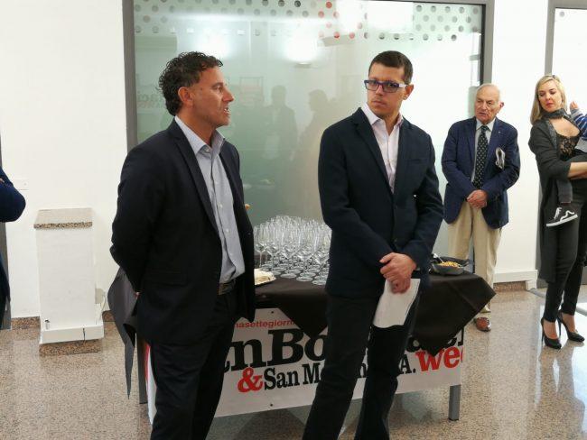 Inaugurata la nuova redazione di San Bonifacio e San Martino B.A. Week FOTO e VIDEO