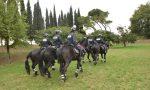 Pattuglie a cavallo per presidiare i bastioni di Verona