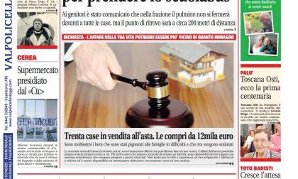A voi la prima pagina di Legnago Week