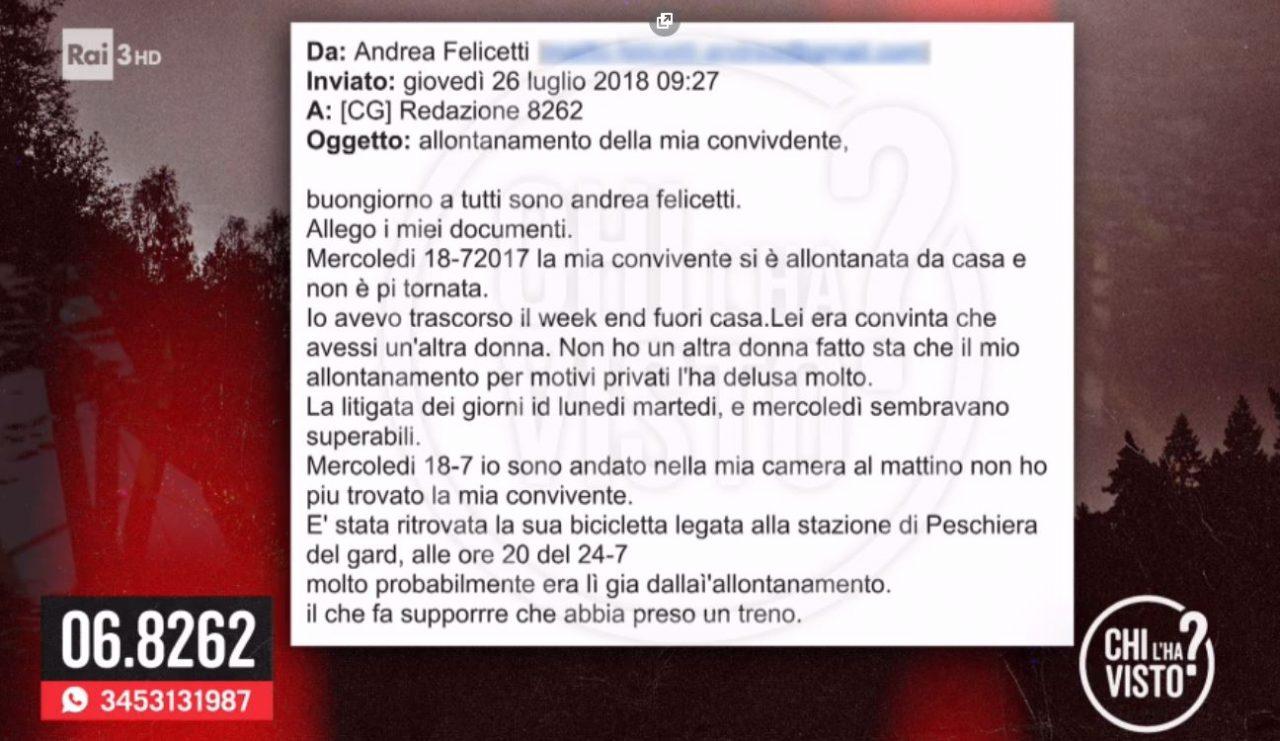Nessuna notizia di Brenda, Maria Aparecida Soares. Una donna scomparsa il 18 luglio, la cosa strane è che non riesce a contattarla nemmeno sua figlia.