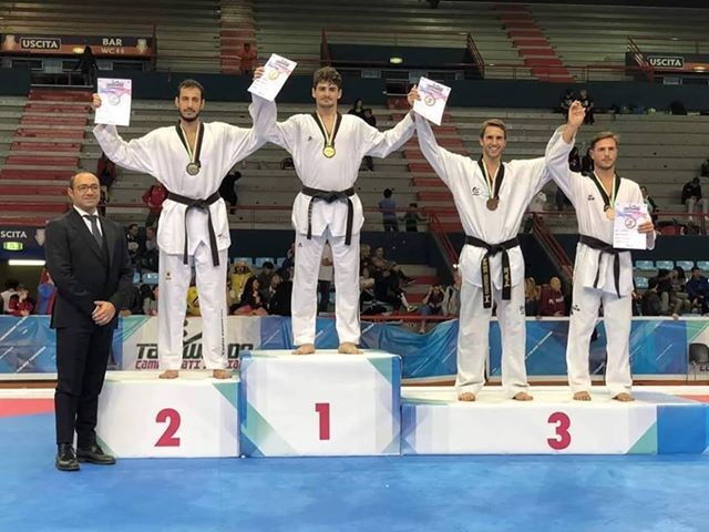 Matteo Marjanovic campione d'Italia di Taekwondo