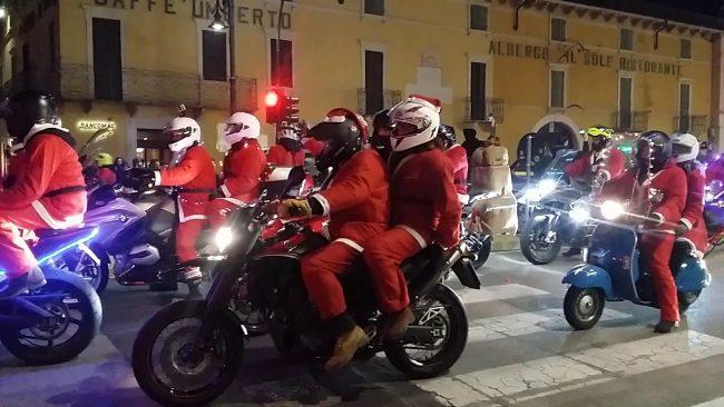 Percorso Babbo Natale.Babbi Natale In Moto Il Programma E Il Percorso Verona Settegiorni