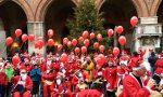 Christmas run con i Babbo Natale della Melegatti