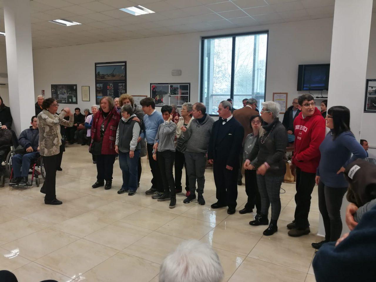 Al Terzo Stormo di Villafranca gli auguri di Natale per i ragazzi diversamente abili FOTO