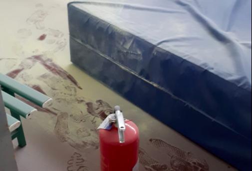 Vandali a San Bonifacio: colpita palestra Dal Cero FOTO