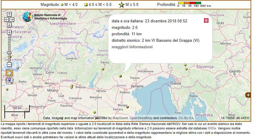 terremoto veneto