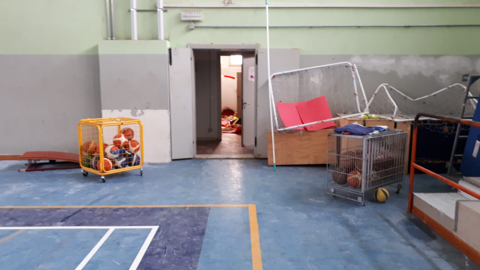 Vandali a San Bonifacio: colpita la palestra del Dal Cero