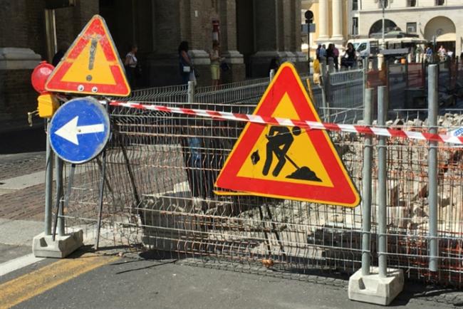 Limitazioni Sp 51/a Vigasio per posa di tubazioni della rete idrica
