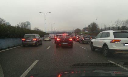 Traffico in tilt a Verona Sud