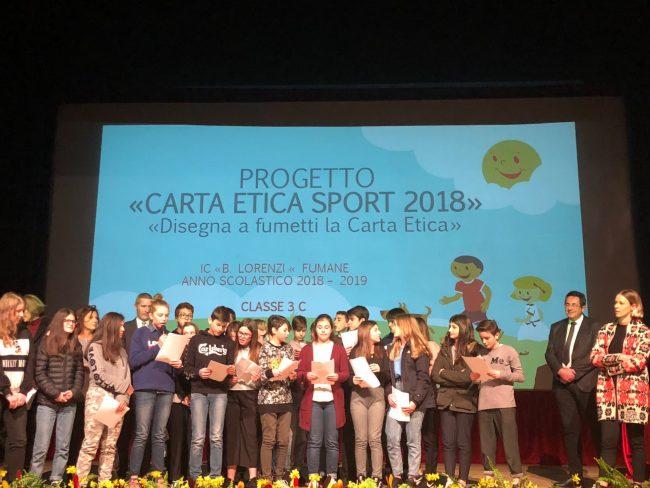 Studenti e valori dello sport, Federica Pellegrini premia i vincitori del concorso