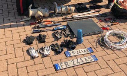 Furto di rame a San Martino Buon Albergo due arresti