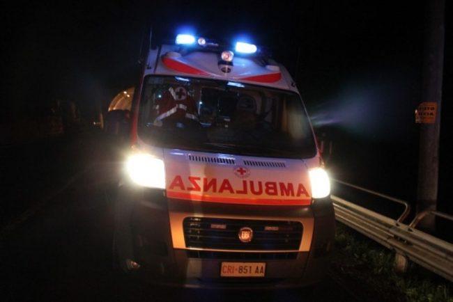 Scontro tra auto a Buttapietra, due feriti di cui uno grave