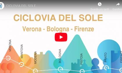 Ciclovia del sole in bici da Verona fino a Firenze e Bologna VIDEO