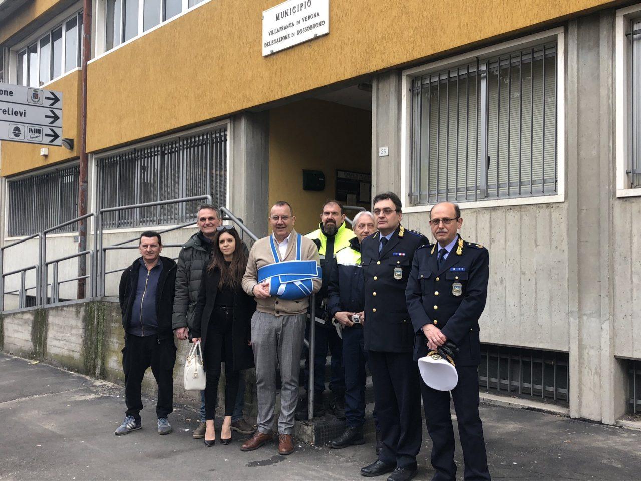 Polizia municipale, nuova sede a Dossobuono
