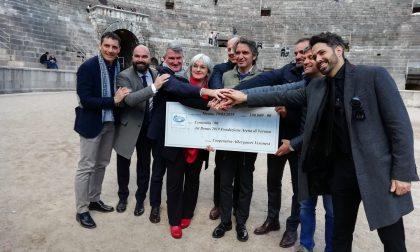 Albergatori veronesi donano 100mila euro a Fondazione Arena