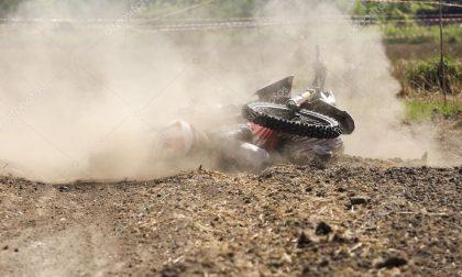Bovolone: cade in motocross, è codice rosso