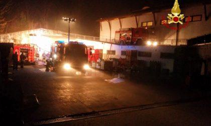 Incendio supermercato De Beni a Costermano, domani la riapertura