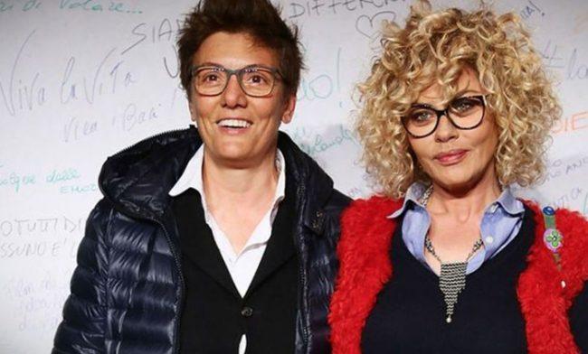 Eva Grimaldi e Imma Battaglia spose: il messaggio su Instagram
