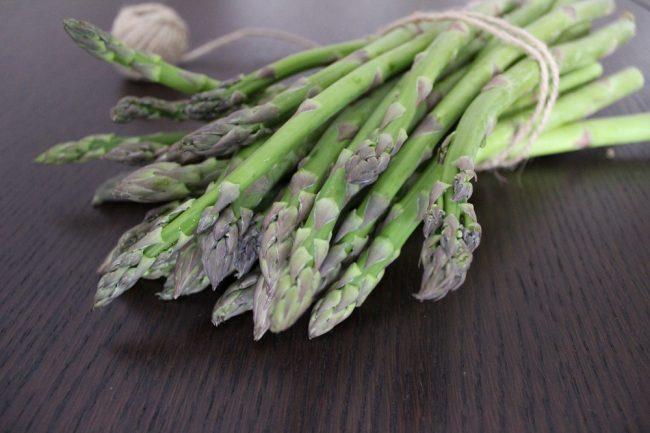ricetta con gli asparagi verdi