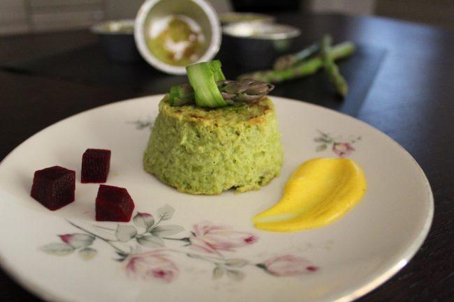 ricetta con gli asparagi, lo sformatino primavera