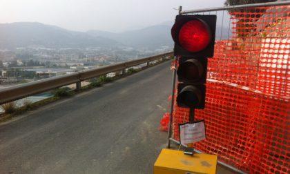 Limitazioni al traffico lungo la Strada provinciale 6 dei Lessini a Grezzana