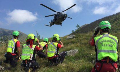 Grave incidente in Val Ledro: 28enne di Verona perde l'appiglio e precipita per alcuni metri