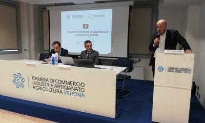 """Camera commercio Verona: """"Svizzera opportunità per fare business"""""""