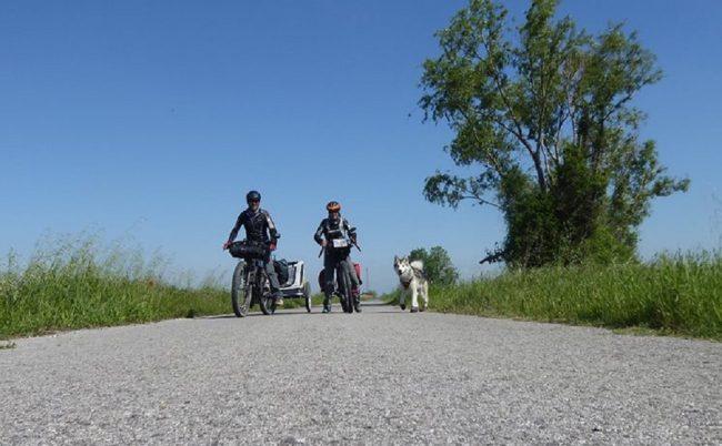 in viaggio con il proprio cane Stefania Dario e Walkyn