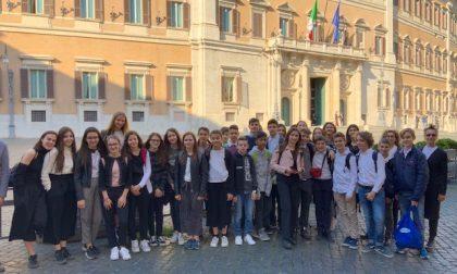 Gli studenti più bravi di Sommacampagna in viaggio a Roma