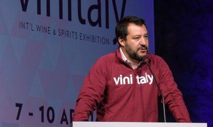 Vinitaly: all'inaugurazione anche Matteo Salvini