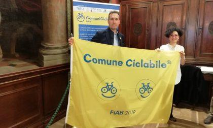 Verona città ciclabile ottiene la bandiera gialla Fiab