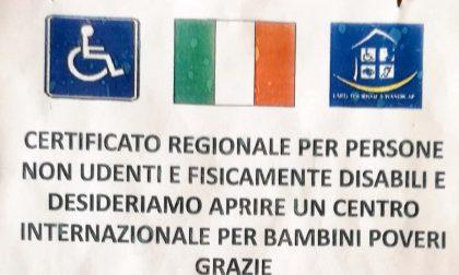 Fingeva di essere sordo per raccogliere denaro a Verona applicato il Decreto Sicurezza