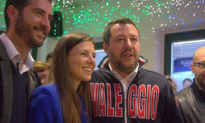 Elezioni comunali 2019, Salvini a Valeggio per sostenere Vania Valbusa FOTO e VIDEO