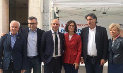 Mariastella Gelmini a Legnago per il candidato Shahine