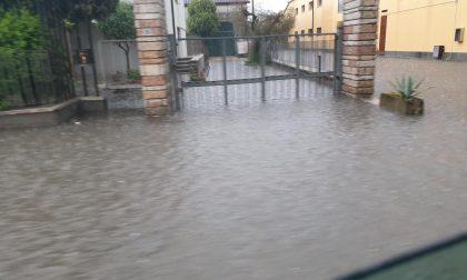 Bomba d'acqua su Cerea e la Bassa veronese, strade del paese allagate FOTO