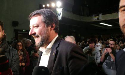 Salvini a San Bonifacio ultimatum al M5S sull'autonomia VIDEO