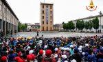 Una giornata da vigili del fuoco per gli studenti veronesi FOTO