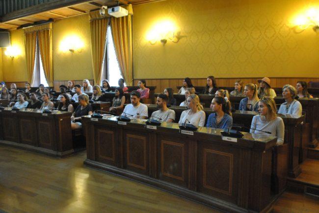 Studenti americani a Verona per scoprire la cucina del territorio