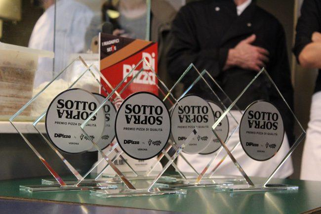 Magnifici sette della pizza a Verona i premi