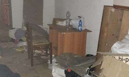 Occupa abusivamente il garage di un condominio e ci crea un alloggio