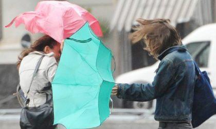 Stato di attenzione per precipitazioni e forte vento