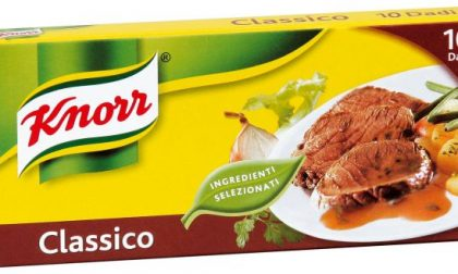 Unilever addio: il dado Knorr sarà prodotto in Portogallo