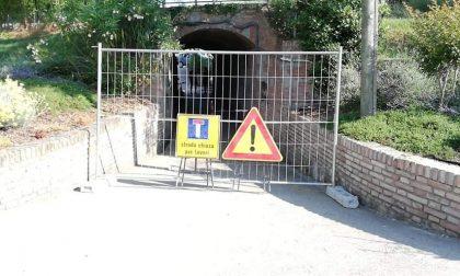Lavori di messa in sicurezza accesso al Parco Valle del Menago
