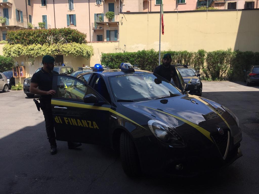 Durante un controllo della Guardia di Finanza è stato arrestato un marocchino a Borgo Roma.