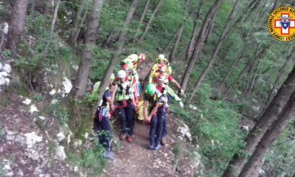 Scivola nei pressi del ponte tibetano, intervenuto il soccorso alpino