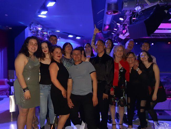 Art Club Disco serata con Unione ciechi di Verona